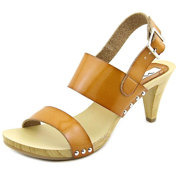 Nina Kathleen Women Open Toe Synthetic Tan Sandals