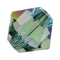 Swarovski Elements Crystal, 5328 Bicone Beads 6mm, 20 Pieces, Crystal Paradise Shine