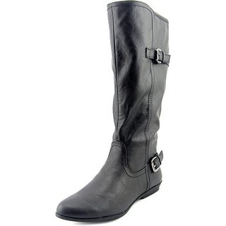 White Mountain Finalist Wide Calf Women Round Toe Synthetic Knee High Boot