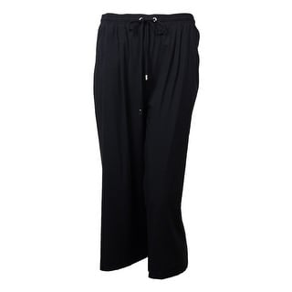 Karen Kane Women's Drawstring Culottes Pants - S