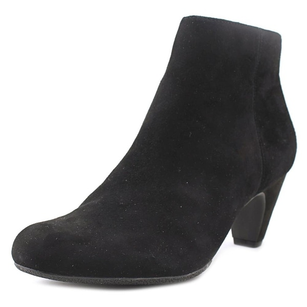 ec06686c0bb8 Shop Sam Edelman Michelle Women Round Toe Suede Black Ankle Boot - Free  Shipping Today - Overstock - 18914291