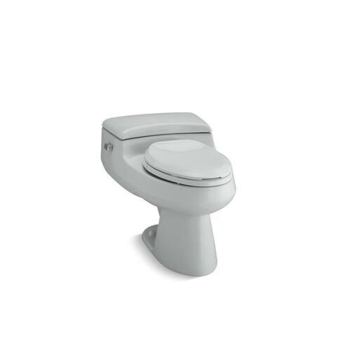 Kohler San Raphael® Comfort Height® One-Piece Elongated 1.0 Gpf Toilet Ice(TM) Grey (K-3597-95)
