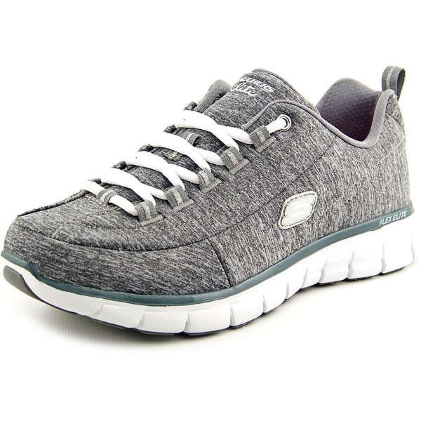Skechers Synergy Spot On Gray Tennis Shoes