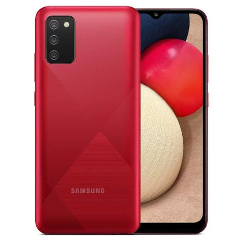 Samsung Galaxy A02s A025M 64GB Dual Sim GSM Unlocked Android Smart Phone - Red