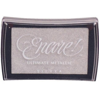 Encore! Ultimate Metallic Ink Pad Silver