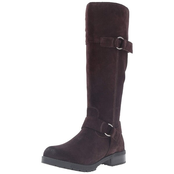 CLARKS Womens Faralyn Dawn Closed Toe Knee High Riding Boots