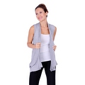 Simply Ravishing Women's Basic Sleeveless Open Cardigan (Size: Small-5X) - Thumbnail 1