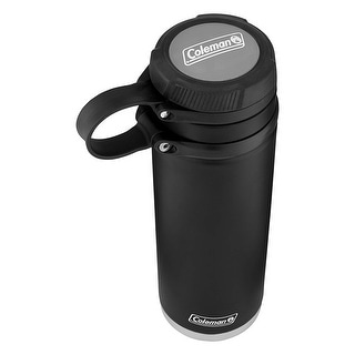 Coleman 2016912 Fuse Insulated Stainless Steel 40oz Water Bottle, Black