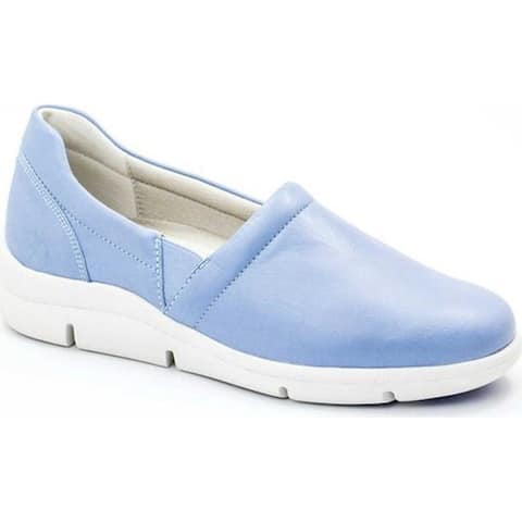 Dromedaris Women's Vicky Slip-On Lavender Leather