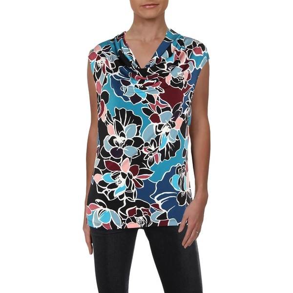 678177c7db Shop Kasper Womens Cami Floral Print Cowl Neck - M - Free Shipping On  Orders Over $45 - Overstock - 27132572