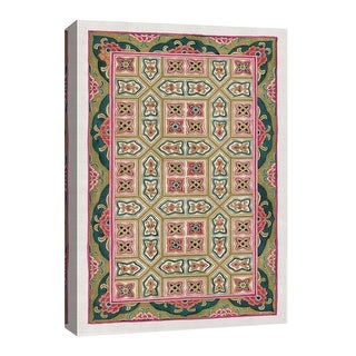 """PTM Images 9-126667  PTM Canvas Collection 8"""" x 10"""" - """"Moving Geometry"""" Giclee Patterns and Designs Art Print on Canvas"""