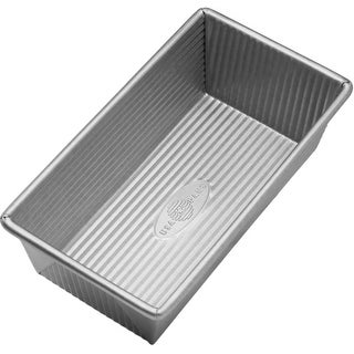 "USA Pans 1140LF Aluminized Steel Loaf Pan, 8.5"" x 4.5"""