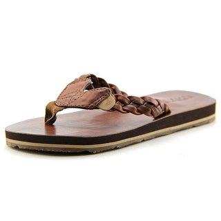 Sperry Top Sider Topsail Casual Open Toe Leather Flip Flop Sandal