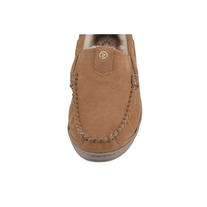 MOC PAPA Mens Suede Leather Moccasin Warm Loafers