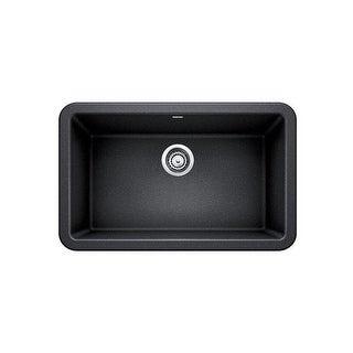 "Blanco 4017 Ikon 30"" Silgranit Granite Composite Farmhouse Apron Front Single Bowl Kitchen Sink - N/A"