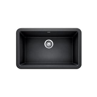 Blanco 4017 Ikon 30 Silgranit Granite Composite Farmhouse A Front Single Bowl Kitchen Sink