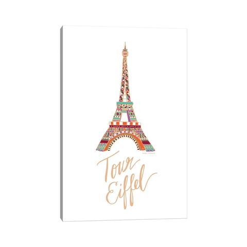 "iCanvas ""Eiffel Bronze"" by ETTAVEE Canvas Print"