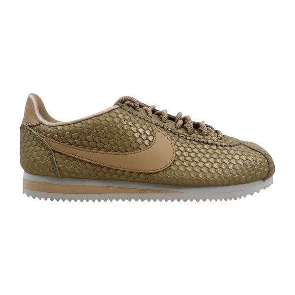 Shop Nike Women s Classic Cortez SE Blur Bio Beige-Light Orewood ... 717bdf96d