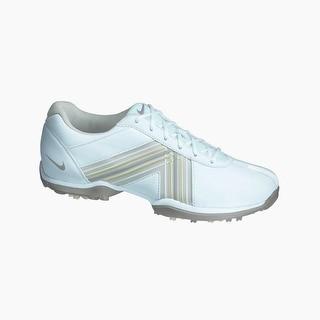 Nike Women's Delight White/ Grey/ Vapor Mauve Golf Shoes 549583-100 -  9.5 Medium