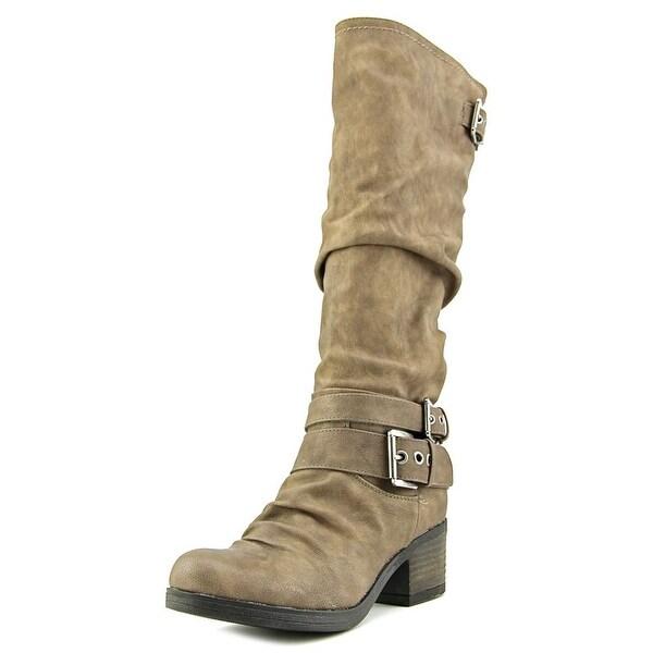 Carlos by Carlos Santana Claudia Women Taupe Boots