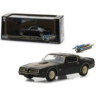 1977 Pontiac Firebird Trans Am Black Smokey and the Bandit (1977) Movie 1/43 Diecast Model Car by Greenlight