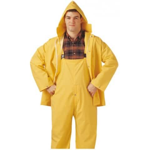 Comfort-Tuff S63217-MD Jacket & Bib Rainsuit, Medium, Yellow