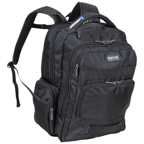 Kenneth Cole Reaction Travelier Triple Compartment 17-Inch Laptop & Tablet Anti-Theft RFID Business Backpack
