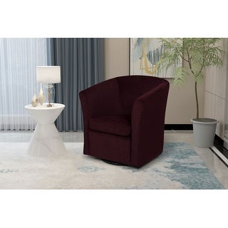 Link to Lana Upholstered Swivel Armchair Similar Items in Living Room Chairs