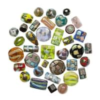 School Specialty Metallic Accent Beads, 4 Ounces, Assorted Colors