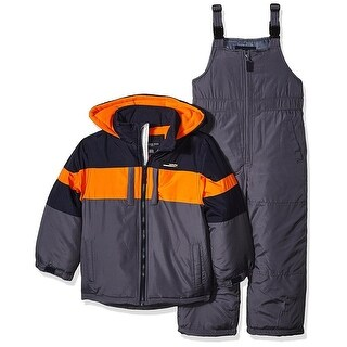 London Fog Boys 4-7 Snow Bib and Jacket Snowsuit