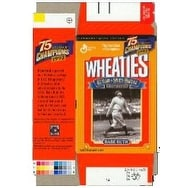 Babe Ruth Unsigned New York Yankees Mini Wheaties Box Flat Commemorative Box Unused