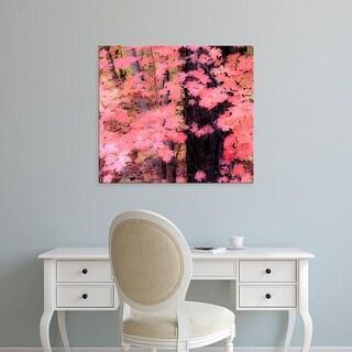 Easy Art Prints Dana Echols's 'Maple Splash' Premium Canvas Art