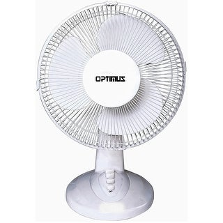 """Link to 12"""" Optimus Oscillating Table Fan Similar Items in Heaters, Fans & AC"""