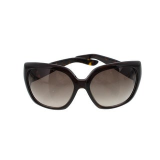 Yves Saint Laurent Womens Tortoise Print Designer Sunglasses - o/s