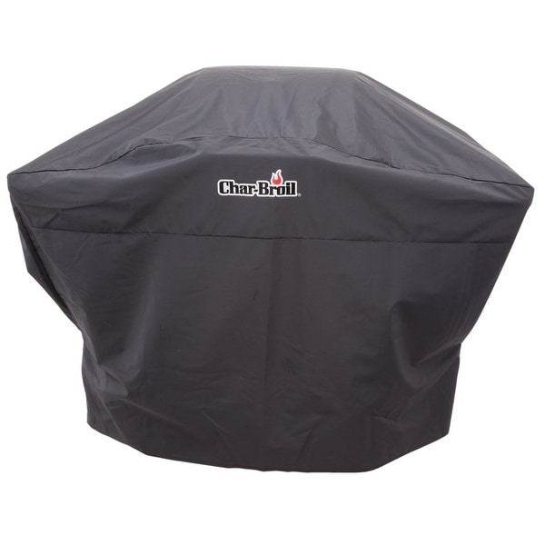 Char-Broil 9154395 Polyester Grill Cover, Black, 52""