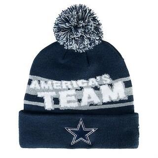 Dallas Cowboys Slogomark Knit Beanie