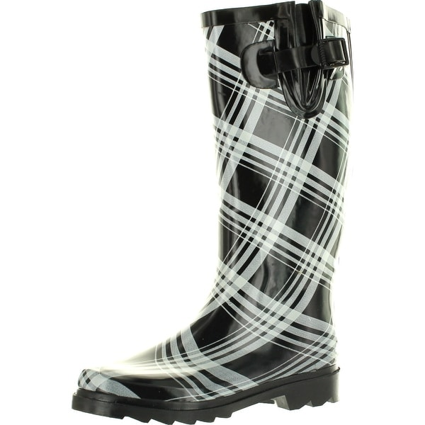 Static Footwear Womens Raindrops Fashion Rain Boots. Opens flyout.