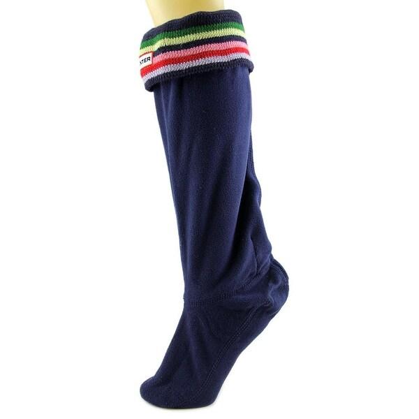 Hunter Stripe Welly Sock Women Boot Socks