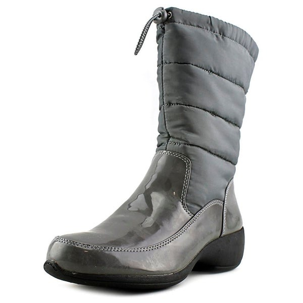 Naturalizer Jude Women Round Toe Synthetic Gray Snow Boot