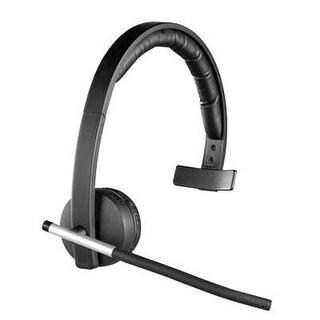 Logitech 981-000511 Wireless Headset Mono H820e, Dect Spectrum Single-Ear Headset