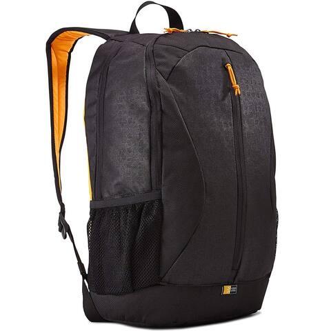 "Case Logic Ibira 15.6"" Backpack Laptop Bag - Black - 12.6 x 10.2 x 17.3"