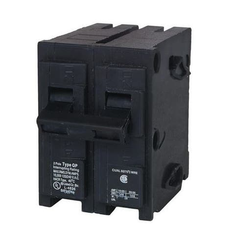 "Siemens Q260 Double Pole Circuit Breaker, 2"", 60 Amp"