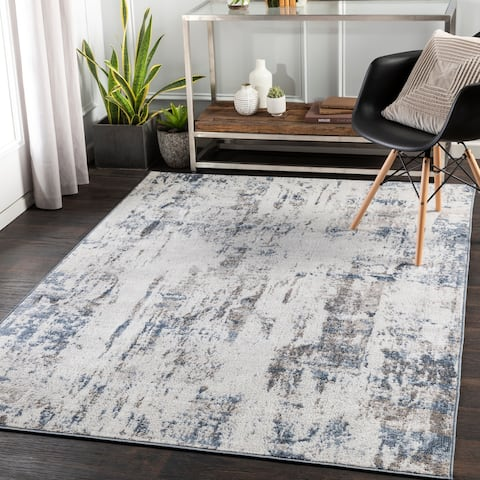 Darrall Modern Abstract Area Rug