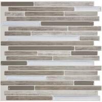 Smart Tiles Capri Taupe Tile SM1069-1 Unit: EACH
