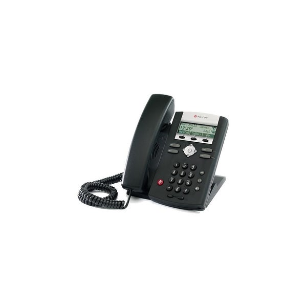 Refurbished Polycom 2200-12365-001-R SoundPoint IP 331 2-Line IP Phone w/ AC