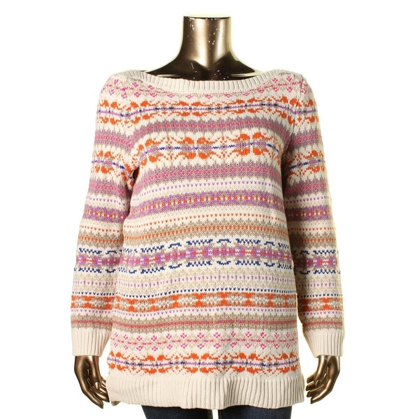 Lauren Ralph Lauren Womens Plus Pullover Sweater Knit Pattern