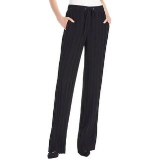 Theory Womens Tralpin P Dress Pants Crepe Pintuck