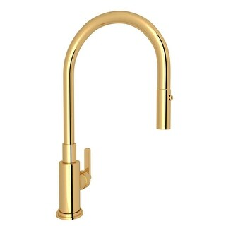 Rohl A3430 Lombardia Pull-Down Spray Kitchen Faucet