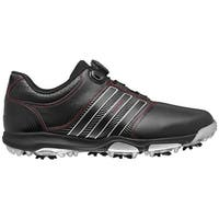 Adidas Men's Tour 360 X BOA Core Black/Core Black/Red Golf Shoes Q47062