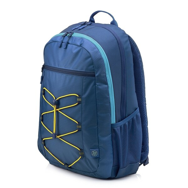 HP 15-inch Laptop Sport Backpack (Blue/Yellow)